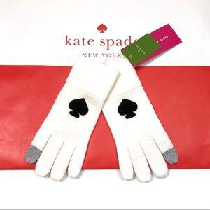 """♠️ Kate Spade """"Spade"""" Gloves"""